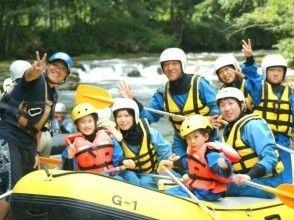 【北海道・南富良野】シーソラプチ川ラフティング ☆ツアー写真のプレゼント付き☆の画像