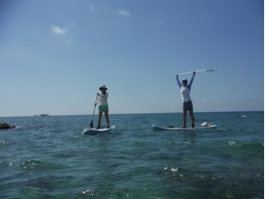 【Okinawa · Southern Part】 Selectable SUP Yoga or SUP Cruise & Aroma Herbal Health Tourism