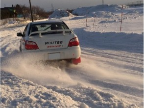 【Hokkaido · Sapporo · Ebetsu】 Feeling is a rally driver ♪ Experience driving on the snow! Image of