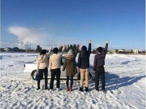 【北海道・札幌・江別】気分はラリードライバー ♪ 雪上ドリフト体験走行!(カニ鍋つき・2名~)の画像