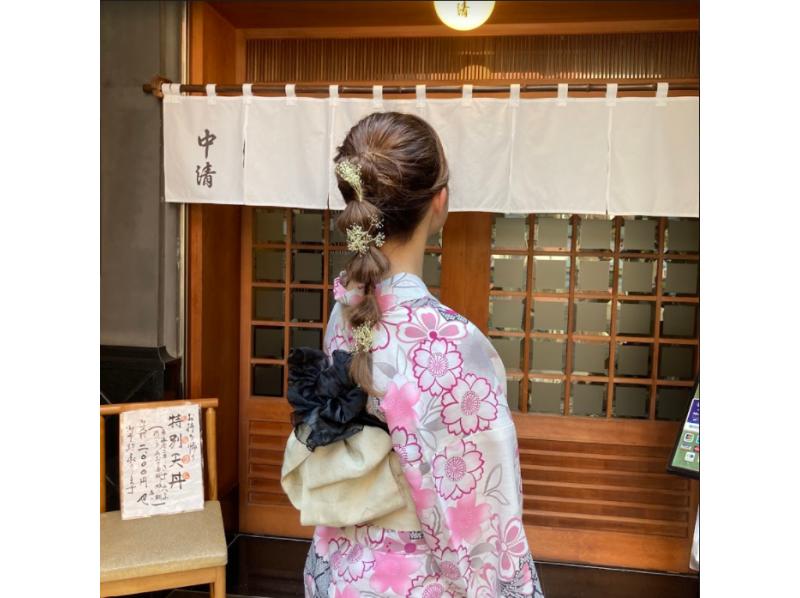 【東京・浅草】着物レンタル・ヘアセットプラン(女性用)の紹介画像