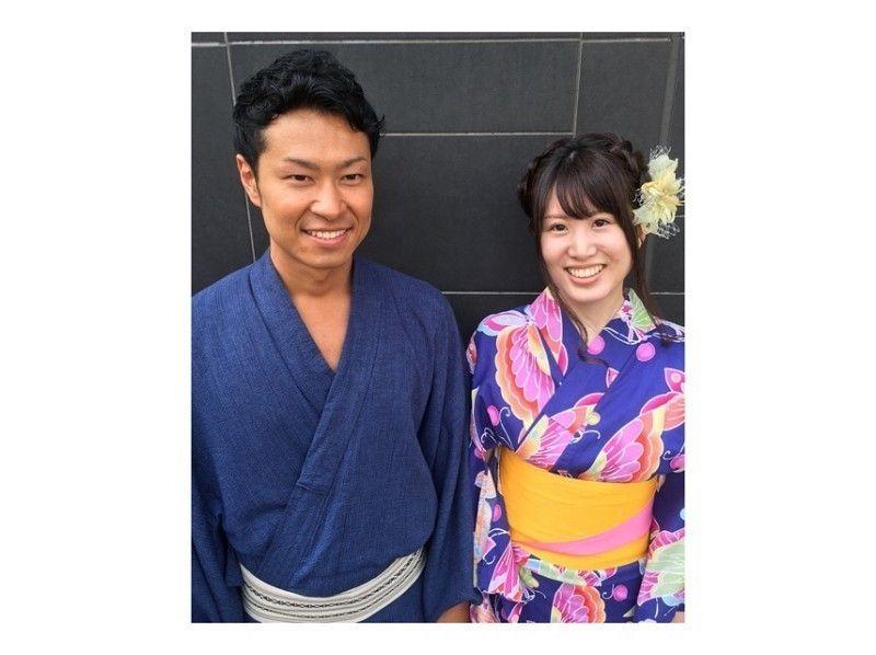 【東京・浅草】浴衣レンタル・メンズプラン(夏季限定)の紹介画像