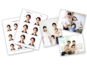 【東京・豊島区千川】証明写真・家族写真撮影(Aコース)の画像