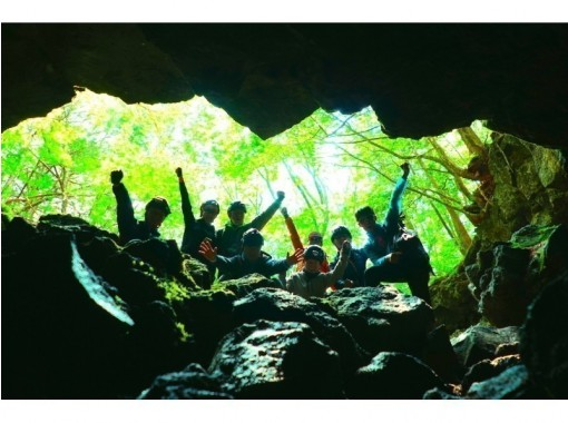 富士の樹海で大冒険!神秘な森の洞窟探検〜氷の世界へ〜