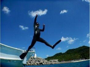 【沖縄・瀬底島・水納島】本部港発 ♪ ボート体験ダイビング!の画像