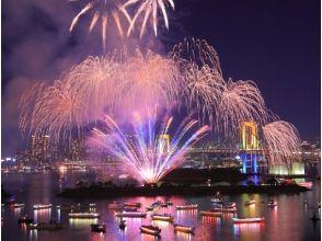 【Odaiba】 Elegantly, Hilton Tokyo Odaiba / Fireworks Observing Party <Buffet & Fried Link> [10840]