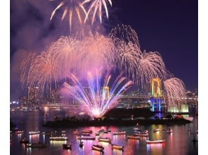 "[Kachidoki ship] ""(Digging seats) Autumn Odaiba fireworks and ceremonial boat view cruise"" with tempura miso sauce [10894]"