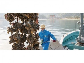 "【Hiroshima・Miyajima】""Tour of Aki"" COOL HIROSHIMA「Watch Oyster Landing」! Fishermen's Meal (Oyster zosui) Included"
