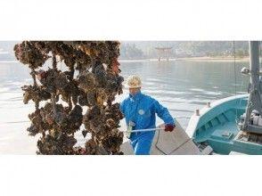 【広島・宮島】安芸の国めぐり「かき水揚げ見学」漁師飯(かき雑炊&焼き牡蠣)つき