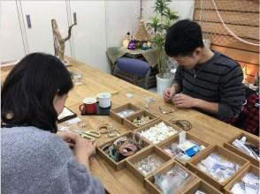 【兵庫・神戸・】マリンクラフト体験~海からの贈り物の「貝殻・サンゴ」を使ってアクセサリーを1つ作ろう!