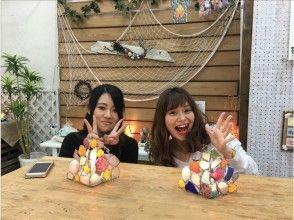 【兵庫・神戸】照明作り~マリングラスでステンドグラスの様なラ「ンプシェード」を作ろう!