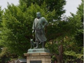 <Bakumatsu series walking on an old map> Edo's last shogun Yukari Tokugawa's Bakumatsu Sanpo ~ Ueno · Yanaka neighborhood ~ 【10899】
