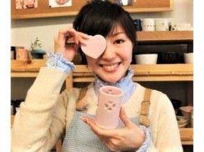 【新宿】癒しの灯り ☆ 陶器・アロマライトづくり体験♪の画像