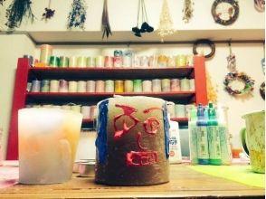 【愛知・名古屋】作成したキャンドルをデコっちゃおう!「キャンドルデコレーション体験」の画像