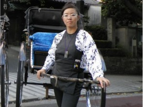"«Limited time only! »Rickshaw and Otaya"" Yanaka Tour of Yoshitaka ""(Yanaka Teramachi 40 minutes course) 【10809】"