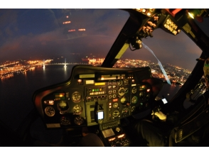 【神奈川・横浜】ヘリコプター遊覧飛行 GOLDコース【貸切フライト10分】の画像