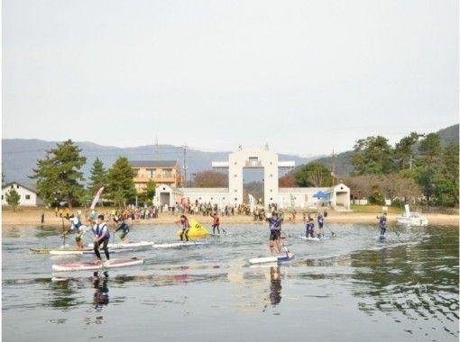【11/10(日)開催】びわ湖SUP駅伝「インフレータブルクラス」(3~4名で参加OK)の紹介画像