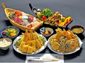 "【Asakusabashi boarding ship】 ""Odaiba Ocean Fireworks Festival · Yaoi Ship Viewing Cruise"" ~ Fried Tempura Sushi & All you can drink 【11318】"