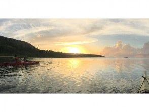 〔沖縄・西表島〕 癒しの夕凪を感じる サンセットカヤックツアー ロングコースの画像