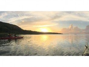 〔沖縄・西表島〕 癒しの夕凪を感じる サンセットカヤックツアー ショートコースの画像