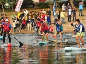 """【11/11 ( Sun )】 Biwako SUP Ekiden """"Hardboard class"""" (participation OK for 3 or 4 First name )"""