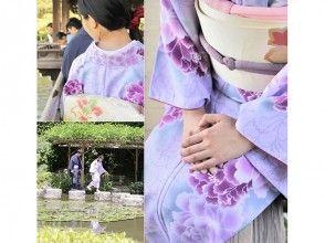 【京都・東山駅から徒歩5分】観光にぴったり★着物で京都散策を満喫しよう!の画像