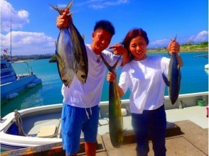 【沖縄・恩納村】【船1隻完全貸し切り】トローリングで大物狙い釣り(マグロ・カツオ・シーラ)