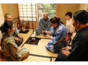 ★貸切★雑誌でも話題の「東京の離れ」。1300年の歴史、 緑に囲まれた美しい寺で、「91代住職」による茶道