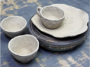 【群馬・みなかみ】利根川のほとりで陶芸体験 手びねりコースの画像