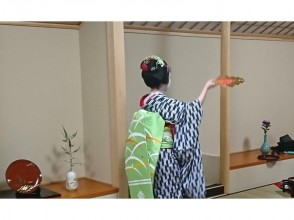 【A popular permanent program in Kyoto ♪ Appearance ♪】 Point experience with Maiko ~ With snacks and free drinks ~