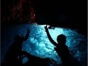 【青の洞窟】長時間楽しめる半日ビーチシュノーケリング!【写真データ付き】の画像