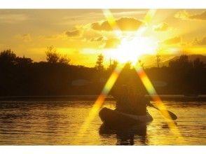 【沖縄・石垣島】サンセット&星空ナイトカヌー♪赤く染まる空、キラキラ輝く星空を堪能しよう♪の画像