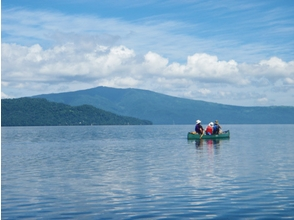 【北海道・釧路川】澄んだ空気の中で自然を体験!カヌー体験半日コース(屈斜路湖・釧路川源流部コース)の画像