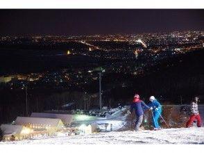 【北海道・小樽】手ぶらで、スキー・スノボ滑り放題!「リフト一日券&レンタルセット&お食事券」セットの画像