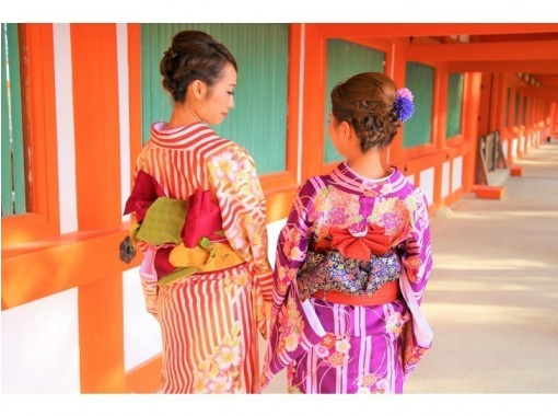 【奈良・JR奈良】奈良の町をきもので散策「着物/浴衣レンタル・お出かけプラン」わぷらす奈良【地域共通クーポン利用可】