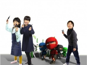 <Kyoto · VR experience! > Experience ninja training with a topic VR experience that you can enjoy with parents! Image of