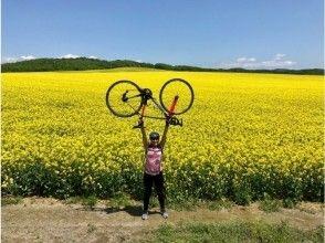 【北海道・安平町】★女性にオススメ★1日10名・サイクリングで絶景の菜の花畑を巡る♪♪♪