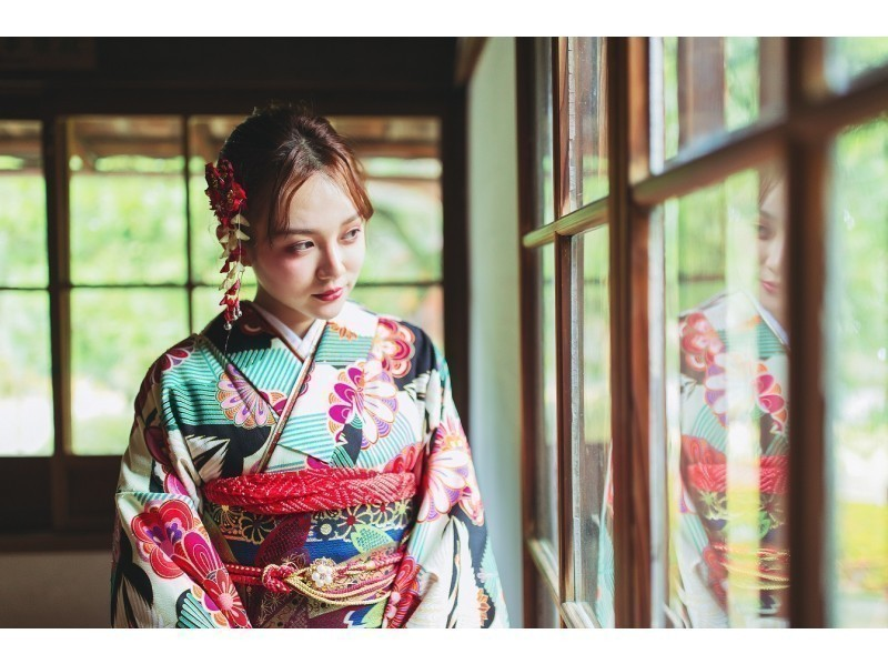 "Recommended shop ""Kyoto Kimono rental 麗"""