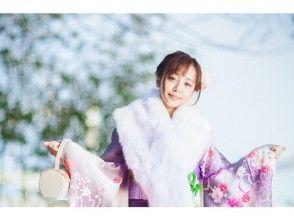 [初夢博覽會]只有冬天!在和服池袋旅遊★標準和服租賃和包紮計劃(東京池袋)