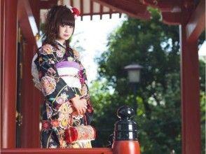【First Dream Fair】 Winter season only! Kimono in Ginza sightseeing ★ Standard kimono rental & dressing plan (Tokyo · Ginza)