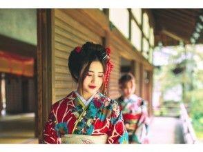 Hair ornament & obi ornament Rental free privilege ♪ Kimono rental plan (Kyoto/ Kiyomizu Temple)