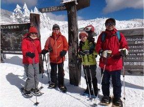 【Nagano · Tateshina】 I will go see the ice cream! Northern Yatsugatake snow shoe