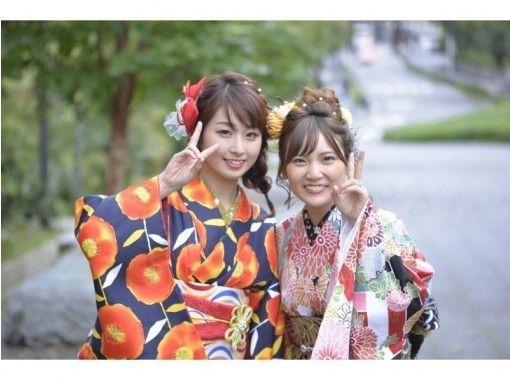 【京都・祇園】着物レンタル!超豪華!!「華雅彩(かがいろ)」帯結び込み全部込みプラン