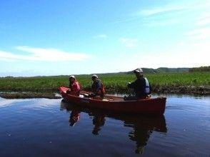 【北海道・釧路湿原・釧路川】朝の静けさを感じるモーニングカヌーの画像