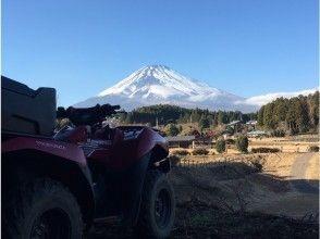 【御殿場・裾野・大野路コース】アクセス便利★バギートレッキング★東側より望む富士山