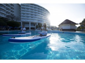 【沖縄・恩納村】泳げなくても安心♪プールサップヨガの画像