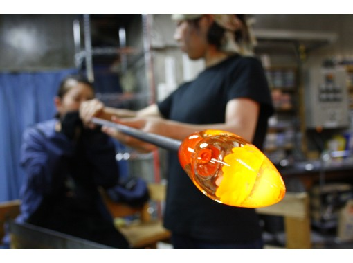 [Hokkaido / Otaru] Blown glass experience! Right next to the Otaru Canal! Feel free to experience it between sightseeing trips! (15 minutes)の紹介画像