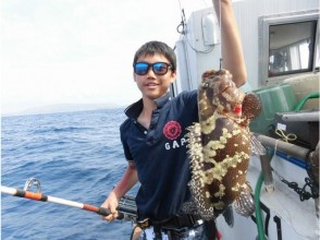 【Okinawa · Honbu-cho】 Tenya Fishing Experience! (Acadin, Taman etc.) Private place!