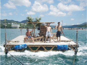 【Okinawa · Honbu-cho】 Beginners · Family welcome! Ikada fishing experience leisurely! There is also a charter!
