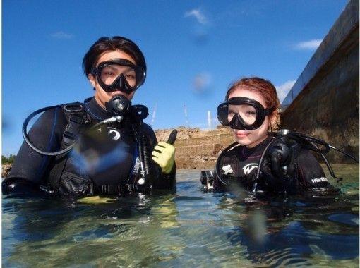 宮古島ビーチ貸切体験ダイビング レンタル器材&GoPro無料レンタル!の紹介画像